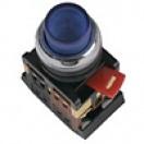 Кнопка ABLFР-22 НО/НЗ (желтая) IEK (10)