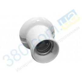 Патрон керамический Е27  ФнК05 ТВС03 настенный накладной