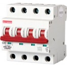 Автоматический выключатель e.industrial.mcb.100.4.C10, 4р, 10А, C, 10кА