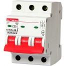 Автоматический выключатель e.mcb.stand.45.3.C8, 3р, 8А, C, 4.5кА