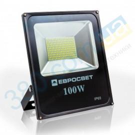 Прожектор EVRO LIGHT EV-100-01 100W 180-260V 6400K 8000Lm SMD HM