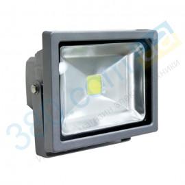 Прожектор FMI 10 LED 30Вт 6500К 2400Лм IP65 DELUX