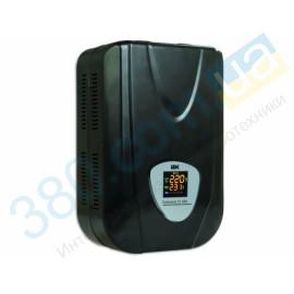 Стабилизатор напряжения Extensive 3 кВА релейный электронный настенный IEK (1)