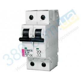 Автоматический выключатель ETIMAT 10  1p+N В 20А 10 kA (2122717)