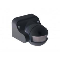 Датчик движения ДД 009 черный 1100Вт, угол обзора 180град., дальность 12м, IP44, IEK (1)