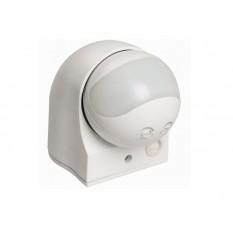 Датчик движения ДД 010 белый 1100Вт, угол обзора 180град., дальность 10м, IP44, IEK (1)