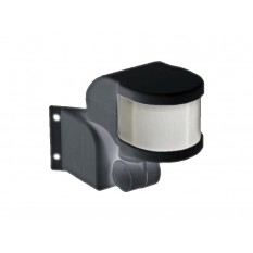 Датчик движения ДД 018В черный 1100Вт, угол обзора 270град., дальность 12м, IP44, IEK (1)