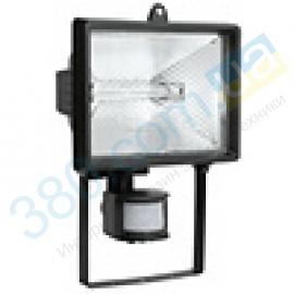 Прожектор галогенный ИО 150Д белый с датчиком IP54 IEK (1)