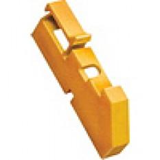 Ізолятор DIN жовтий ІЕК