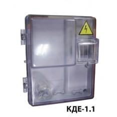 Коробка под счетчик КДЕ-1.1 прозрачная (КД3-У)