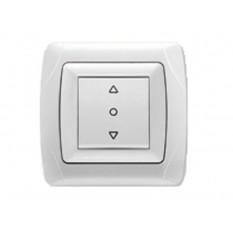 90561016 Выключатель для управления жалюзи Vi-ko (Carmen) белый