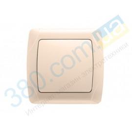 90562001 Выключатель одноклавишный Vi-ko (Carmen) крем