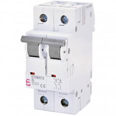 Автоматический выключатель 6  2p D  6A (6kA) (2163512)