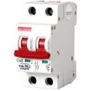 Автоматический выключатель e.industrial.mcb.100.2.C10, 2р, 10А, C, 10кА