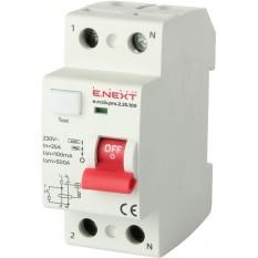 Выключатель дифференциального тока e.rccb.pro.2.100.100, 2p, 100A, 100mA  E.Next