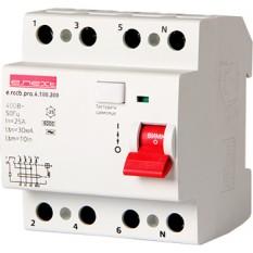 Выключатель дифференциального тока e.rccb.pro.4.100.100, 4p, 100A, 100mA E.Next