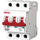 Автоматический выключатель e.industrial.mcb.100.3.D10, 3р, 10А, D, 10кА