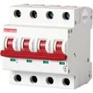 Автоматический выключатель e.industrial.mcb.100.3N.C40, 3р+N, 40А, C, 10кА