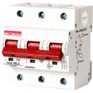 Автоматический выключатель e.industrial.mcb.150.3.D80, 3р, 80A D, 15кА