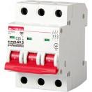 Автоматический выключатель e.mcb.pro.60.3.С40 new, 3р, 40A, С, 6kA