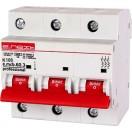 Автоматический выключатель e.mcb.pro.60.3.K80 new, 3р, 80A, K, 6kA