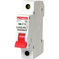 Автоматический выключатель e.mcb.stand.45.1. C25, 1р, 25A, С, 4.5kA