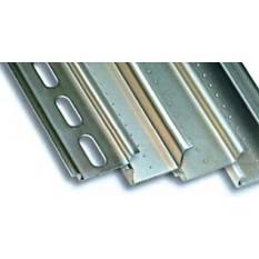 DIN-рейка перфорированная OMEGA 3A , 35х15х1,5мм, длина 2м ДКС 02150