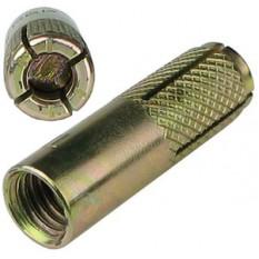 Анкер забивной  М8, для потолочного крепления шпилек, латунный ДКС СМ410831
