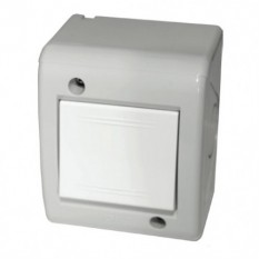 Выключатель одноклавишный в корпусе накладной 2 модуля IP40 ДКС 5464031