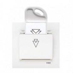 90551151 Брелок (ключ) Vi-ko (Carmen) білий
