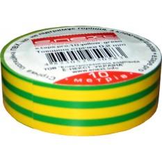 Ізолента e.tape.stand.20.yellow-green, жовто-зелена (20м) E.Next