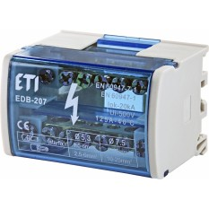 Блок распределительный EDB-207 2P 125A (1102300)