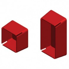 ДКС BPO4121 (LS0021) Заглушка торцевая для двойного профиля