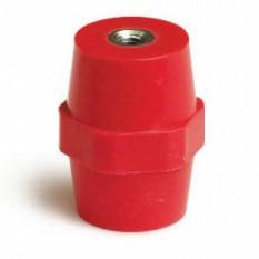 Ізолятор шинний висота 16мм Ширина 15мм кріплення на болт М4, V= 500 В ДКС ISBK1506