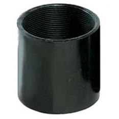 Втулка з'єднувальна М16, чорний колір ДКС PADM16