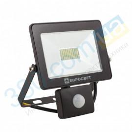 Прожектор светодиодный EV-20-01 20W 180-260V 6400K 1600Лм с датчиком движения
