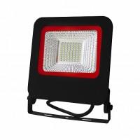 Прожектор черный с радиатором LED SMD 50W 6500К 4500Lm EUROLAMP LED-FL-50(black)new