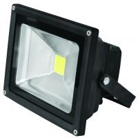 Прожектор черный LED SMD 20W 6500К EUROLAMP LED-FL-20(black)