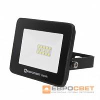 Прожектор светодиодный ЕВРОСВЕТ 10W ES-10-504 BASIC 550Лм 6400К