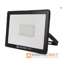 Прожектор светодиодный ЕВРОСВЕТ EV-100-504 PRO 100Вт 9000Лм 6400K