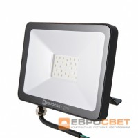Прожектор светодиодный ЕВРОСВЕТ EV-20-504 PRO-XL 20Вт 1800Лм 6400K