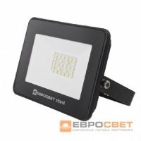 Прожектор светодиодный ЕВРОСВЕТ 20W ES-20-504 BASIC-XL 1100Лм 6400К