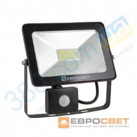 Прожектор светодиодный EV-30-01 30W 180-260V 6400K 2400Лм с датчиком движения