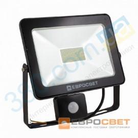 Прожектор светодиодный EV-50-01 50W 180-260V 6400K 4000Lm с датчиком движения