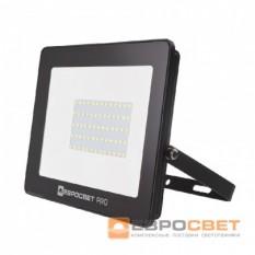Прожектор светодиодный ЕВРОСВЕТ EV-50-504 PRO-XL 50Вт 4500Лм 6400K