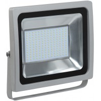 Прожектор СДО07-100 светодиодный серыйIP65 IEK (1)