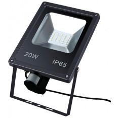 Прожектор светодиодный с датчиком движения MAGNUM FL 10 LED S 20Вт 220В 2400Лм 6500К IP65