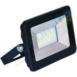 Прожектор LFL  30Вт 6400K SMD IP65 черный 2550Lm ELMAR