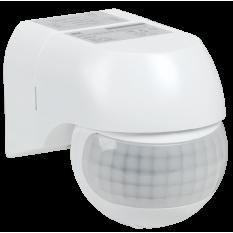 Датчик движения ДД 015 белый 800Вт, угол обзора 180град., дальность 12м, IP44, IEK (1)