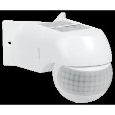 Датчик движения ДД 016 белый 800Вт, угол обзора 180град., дальность 12м, IP44, IEK (1)